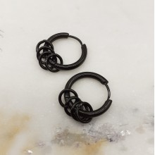 Серьги кольца для женщин Тип/Модель украшения Без подвесок купить №10