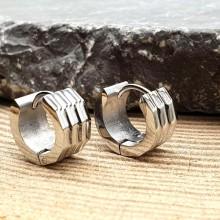 Серьги-кольца унисекс из медицинской стали