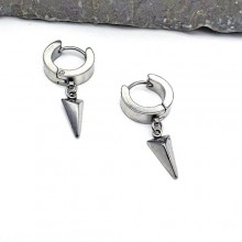 Серьги из стали для мужчин Тип/Модель украшения Подвески (висюльки) купить №20