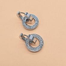 Висячие, длинные серьги Застежка Застежка-кольцо купить №16