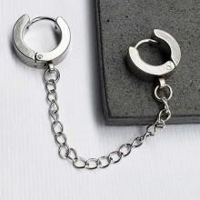 Серьги кольца для женщин Тип/Модель украшения В одно ухо купить №5