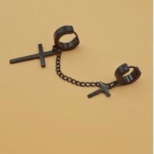 Висячие, длинные серьги Застежка Застежка-кольцо купить №17