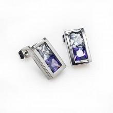 Сережки пусеты – купить стильную бижутерию в «Steel-Evolution» купить №24