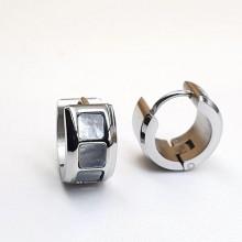 Серьги кольца для женщин Тип/Модель украшения Без подвесок купить №17