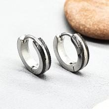 Серьги кольца для женщин Тип/Модель украшения Без подвесок купить №16