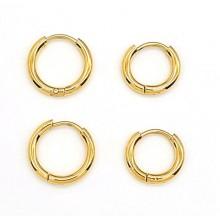 Серьги кольца для женщин Тип/Модель украшения Без подвесок купить №22