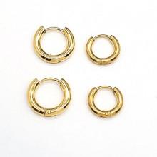 Серьги кольца для женщин Тип/Модель украшения Без подвесок купить №8