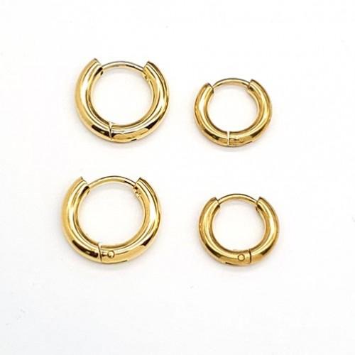 Сережки конго с покрытием ювелирная сталь унисекс 3 мм в ассортименте