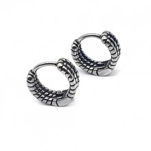 Серьги кольца для женщин Тип/Модель украшения Без подвесок купить №4