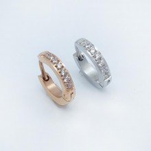 Серьги кольца для женщин Тип/Модель украшения Без подвесок купить №2