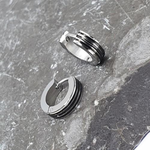 Серьги кольца из медицинской стали унисекс