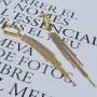 Длинные серьги-висюльки из ювелирной стали Мэрри купить №2