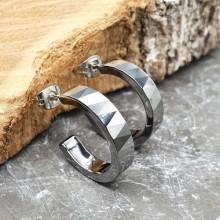 Серьги кольца для женщин Тип/Модель украшения Без подвесок купить №15