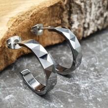 Серьги кольца для женщин Тип/Модель украшения Без подвесок купить №19