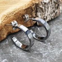 Серьги кольца для женщин Тип/Модель украшения Без подвесок купить №14