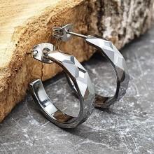 Серьги кольца для женщин Тип/Модель украшения Без подвесок купить №18