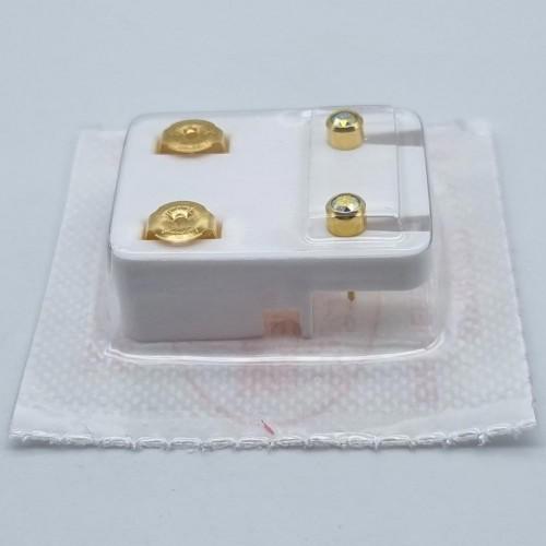 Серьги для прокола уха Studex Горный хрусталь 3 мм