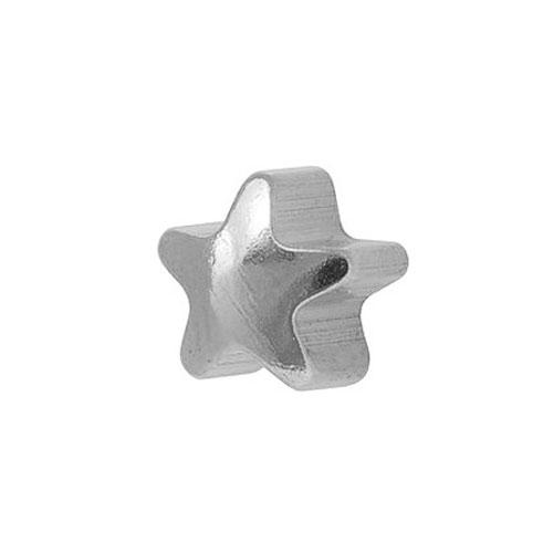 Сережки для первого прокола формы Studex Звездочка без покрытия (размер R, M)