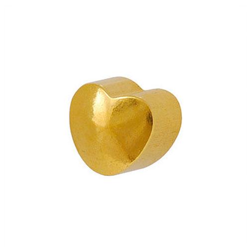 Сережки для первого прокола формы Studex Сердечко позолота
