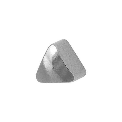 Сережки для первого прокола формы Studex Треугольник без покрытия (размер R)