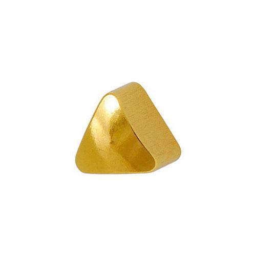 Сережки для первого прокола формы Studex Треугольник позолота (размер R)