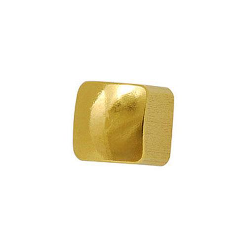 Сережки для первого прокола формы Studex Квадратик позолота (размер R)