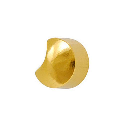 Сережки для первого прокола формы Studex Полумесяц позолота