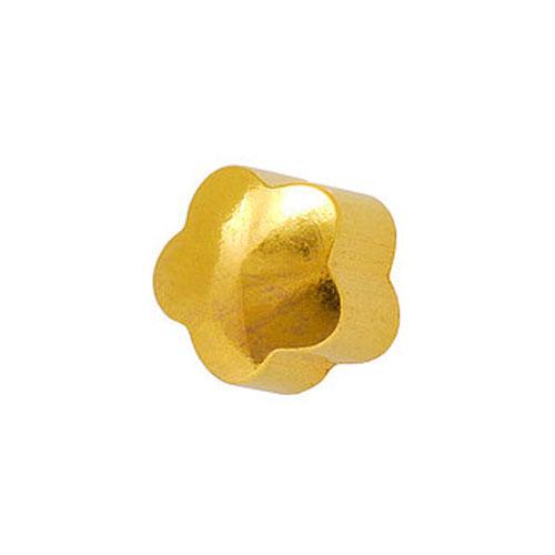 Сережки для первого прокола формы Studex Цветочек позолота