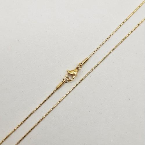 Цепочка из ювелирной стали женская 45 см/1 мм