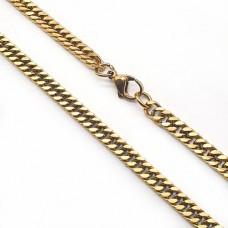Модная цепочка из ювелирного сплава 60 см/5 мм