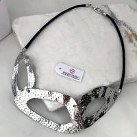 Колье из текстильных шнуров Габби женское бижутерия