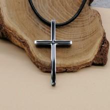 Крест стальной без распятия