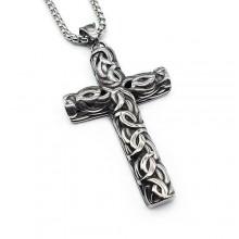 Подвеска декоративный крест на шею без распятия