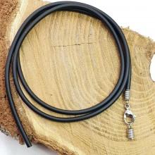 Каучуковый шнурок на шею диаметр 3 мм
