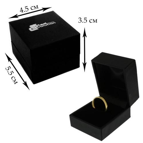 Байкерское кольцо из стали Череп с клыками