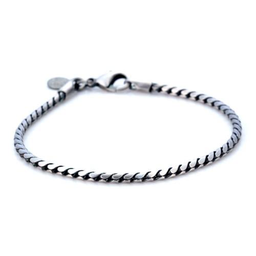 Металлический браслет для мужчин Bico Meteor mini