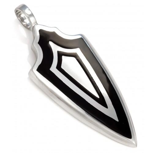 Подвеска Тройной Щит Bico Triple Shield Black