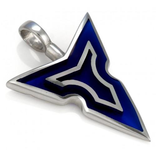 Кулон копье Тайра синее Bico Tyra Spear