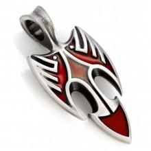 Подвеска с эмалью Дрозд Red Bico Blackbird