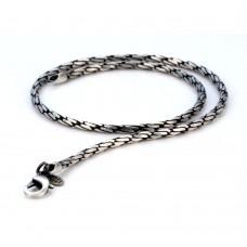 Мужская цепь из гипоаллергенного металла Bico Cyclone 45 см/4 мм