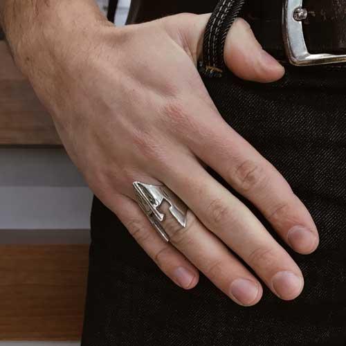 Кольцо стальное для мужчин Киев (Украина)