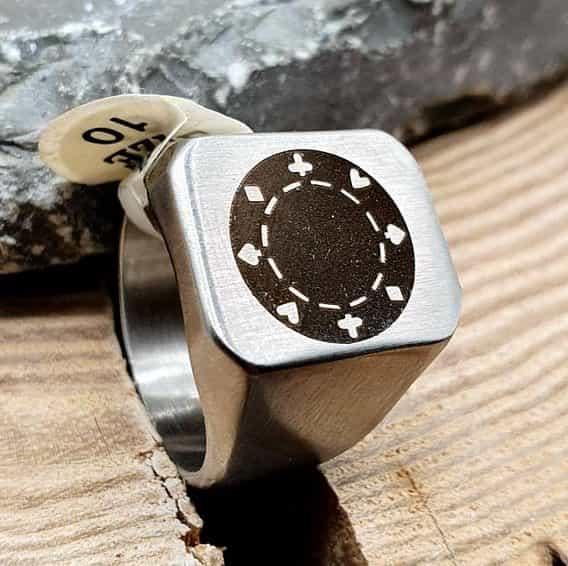 Кольцо под лазерную гравировку