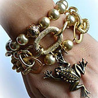 Красивые недорогие женские браслеты бижутерия