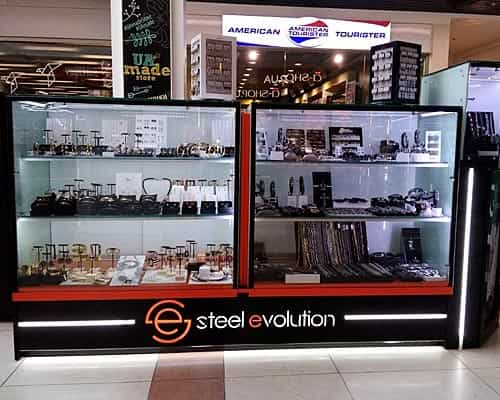 Островок Steel-Evolution в Глобусе